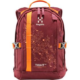 Haglöfs Tight Junior 8 Backpack Junior Aubergine/Cayenne